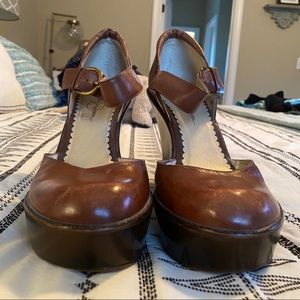 Wedge Platform Jessica Simpson
